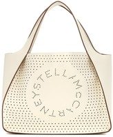 Stella McCartney Stella Logo faux-leather tote