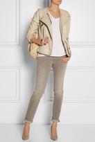 Etoile Isabel Marant Bradi washed-leather jacket