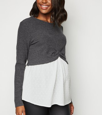 New Look Maternity 2 in 1 Top
