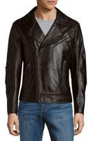 Rogue Asymmetric Leather Moto Jacket