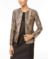 Kasper Brocade Flyaway Jacket, Regular & Petite