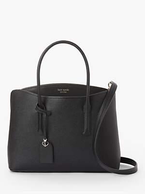 Kate Spade Margaux Leather Large Satchel Bag
