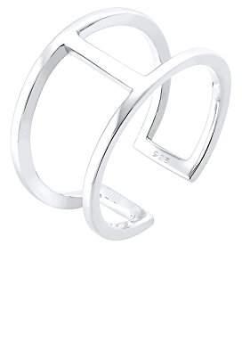 Elli Women's Ring Geo Minimal Trend in 925 Sterling Silver