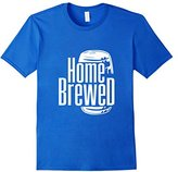 Nightcap Clothing Home Brewed - Proud Wine Beer Master Brewer Craft T-Shirt