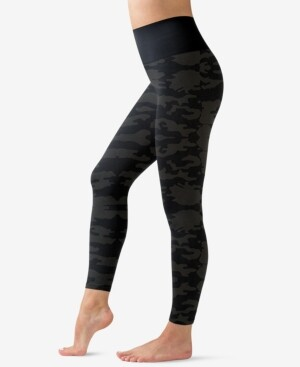 Warner's Easy Does It Seamless Shaping Camo Leggings