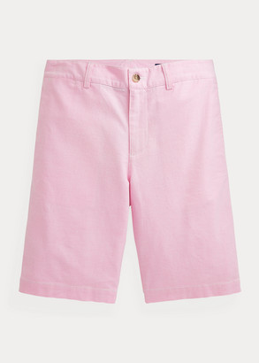 Ralph Lauren Slim Fit Stretch Cotton Oxford Short
