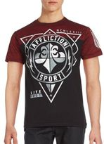 Affliction Geo Sport Graphic Tee