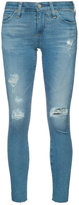 AG Jeans ripped super skinny jeans - women - Cotton/Polyurethane - 25