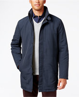 Kenneth Cole Zipper-Front Overcoat