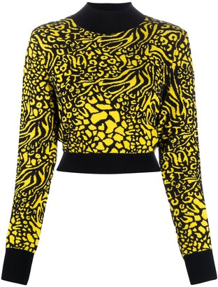 Just Cavalli Patterned Knit Jumper