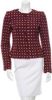 Carolina Herrera Tweed Wool-Blend Jacket