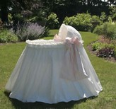 The Well Appointed House Lulla Smith Ruffles and Bows Bassinet