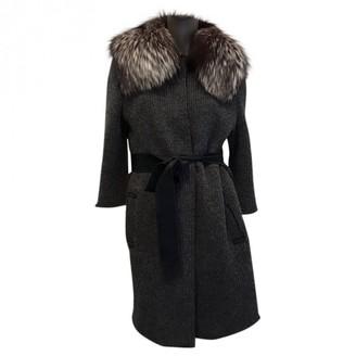 Dolce & Gabbana Grey Fox Coat for Women