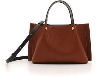 Valentino Garavani VLOGO Escape Small Lamb Leather Tote Bag