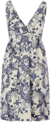 Maliparmi Block Print Dress