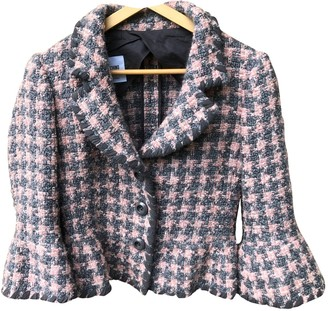 Moschino Cheap & Chic Moschino Cheap And Chic Pink Tweed Jackets