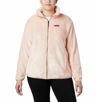 Columbia Women's Plus Size Fire Side II Sherpa Full Zip