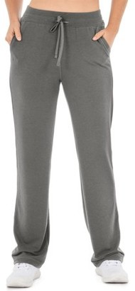 Athletic Works Women's Athleisure French Terry Relaxed Fit Pant