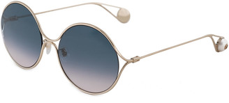 Gucci Women's Gg0253sa 60Mm Sunglasses