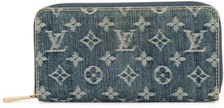Louis Vuitton pre-owned Zippy logo wallet