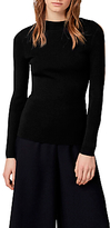 Warehouse Slash Sleeve Jumper, Black