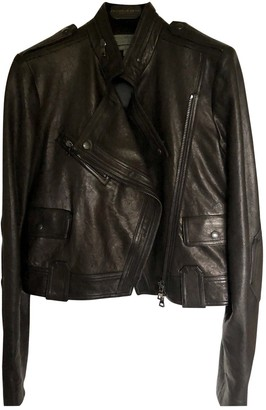 Proenza Schouler Black Leather Leather Jacket for Women