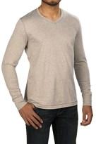 Jeremiah Blake Slub Jersey Shirt - V-Neck, Long Sleeve (For Men)