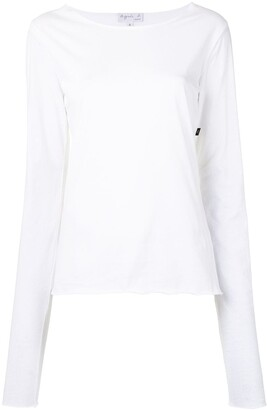 agnès b. Ultra long-sleeved T-shirt
