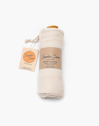 Madewell The Sunshine Series Seven-Pack Reusable Organic Cotton and Hemp Produce Bags
