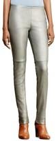 Lauren Ralph Lauren Metallic Leather Pants