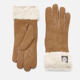 UGG Women's Sheepskin Classic Turn Cuff Gloves - Chestnut