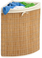 Honey-Can-Do Wicker Corner Hamper