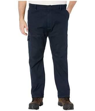 Wrangler Big Tall ATG Outdoor Canvas Cargo (Fallen Rock) Men's Casual Pants