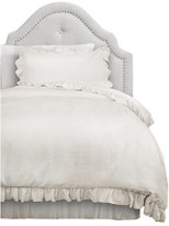 Triangle Home Fashions Reyna Comforter Set, White, Twin XL