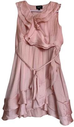 BRIGITTE Bardot Pink Silk Dress for Women