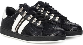 Balmain Esther sequinned sneakers