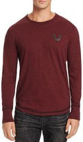 True Religion Shoestring Long Sleeve Logo Tee