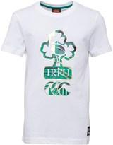 Canterbury of New Zealand Boys Ireland Uglies T-Shirt White