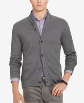 Polo Ralph Lauren Men's Jacquard Fleece Shawl Cardigan