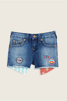 True Religion Casey Patched Toddler/Little Kids Short
