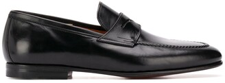 Santoni Carlos low heel loafers