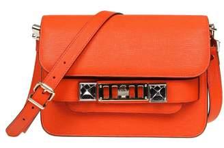 Proenza Schouler Proenza Shoulder Bag Ps11 Mini In Leather Color Orange