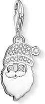 Thomas Sabo Charm club silver and zirconia santa claus charm