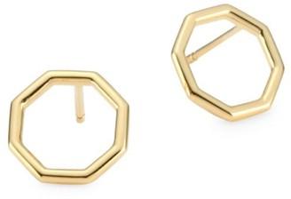 Phillips House 14K Yellow Gold Hero Stud Earrings