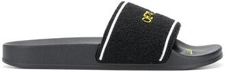Off-White Logo-Print Slide Sandals