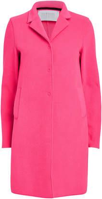 Harris Wharf London Fleece Single Breasted Coat