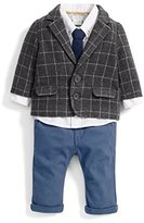 Mamas and Papas Baby Boys' 4 Piece Blazer Clothing Set,6-9 Months