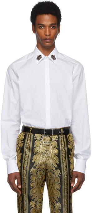 d0390ea66266 Dolce & Gabbana Men's Longsleeve Shirts - ShopStyle