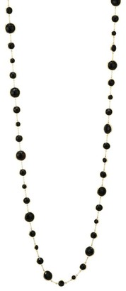 Ippolita Lollipop Long Lollitini 18K Yellow Gold & Onyx Necklace