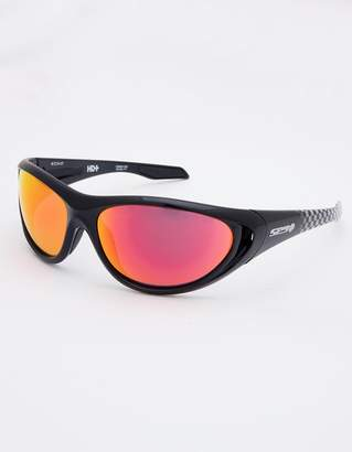 SPY Scoop 2 Black & Checker Fade Polarized Sunglasses